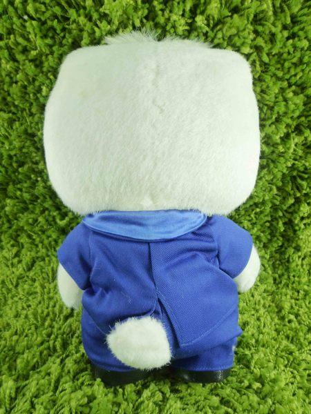 【震撼精品百貨】Hello Kitty 凱蒂貓~KITTY絨毛娃娃-丹尼爾圖案-全身西裝-M