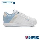 K-SWISS Lundahl WP防水系列 時尚運動鞋-女-白/天空藍/灰