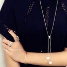 S925銀  光彩亮麗 珍珠長項鍊-維多...