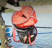 釣魚魚護網兜護魚包特價漁護清倉裝魚袋折疊多功能加厚速干魚網兜 魔方數碼館