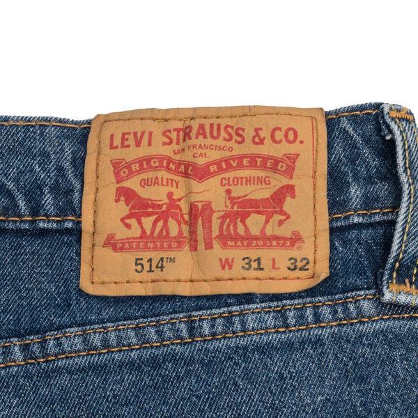 Levis 男款514 低腰合身直筒牛仔長褲 / 彈性布料