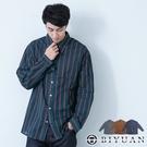 【OBIYUAN】襯衫 韓系 寬鬆 直條紋上衣 長袖襯衫 共3色【X69113】