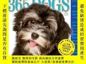 二手書博民逛書店365罕見Dogs Page-A-Day Calendar 20