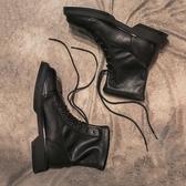 襪靴馬丁靴女英倫風新款ins網紅瘦瘦靴彈力襪靴短靴女秋冬單靴子 韓國時尚週