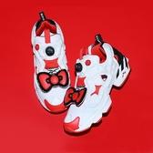 【現貨折後$4780】Reebok x Sanrio Gudetama Instapump Fury 凱蒂貓 紅白 聯名款 女鞋 蝴蝶結 EH2799