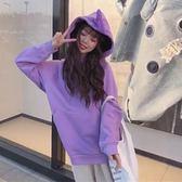 天線寶寶衛衣女抖音同款衣服秋冬季加絨加厚ins超火上衣網紅外套 【Pink Q】