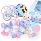 手搖鈴嬰兒玩具0-3-6-12個月8寶寶0-1歲女孩幼兒新生兒益智牙膠5 需其它規格請聯繫客服哦