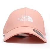 THE NORTH FACE 粉紅 老帽 白LOGO 基本款 (布魯克林) NF0A3SH3UBF
