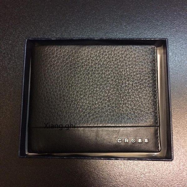 高仕CROSS-皮夾-FV粒紋+6卡+證件套-AC028366