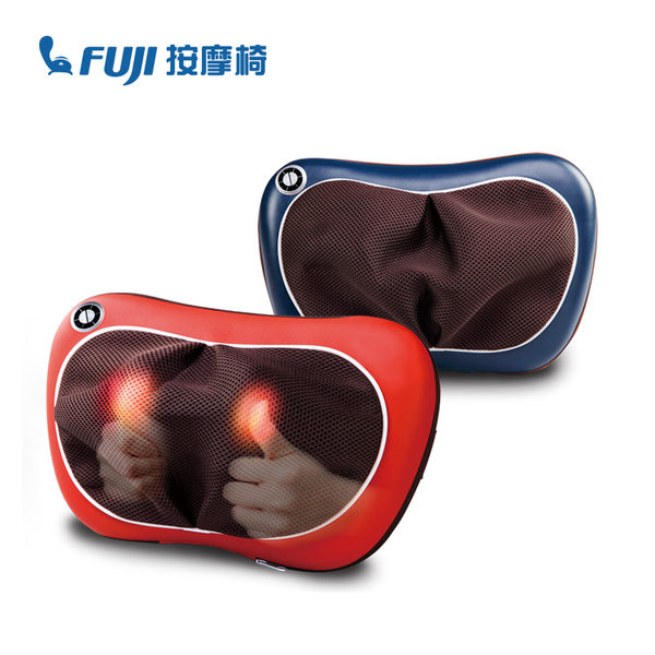 加購第二件$750◢ FUJI 溫揉按摩枕 FG-178