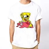 Spongebob Zombie短袖T恤-白色 海綿寶寶殭屍活死人陰屍路搖滾設計趣味潮流玩翻平價時尚390