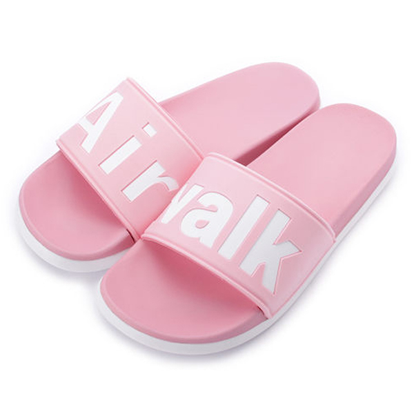 AIR WALK 女鞋 拖鞋 休閒 柔軟 粉 【運動世界】 A825220341