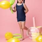 女中童背心泳裝泳衣泳褲(附帽)現貨台灣製造美國杜邦萊卡【36-66-G-8H20703-21】ibella 艾貝拉