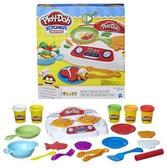【愛吾兒】培樂多 Play-Doh 創意DIY黏土 廚房系列-吱吱火爐料理組