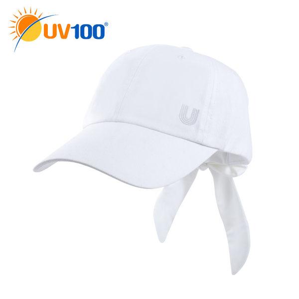 UV100 防曬 抗UV-後蝴蝶結造型鴨舌帽-女