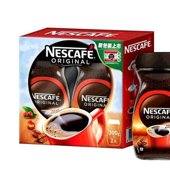 [COSCO代購] W261182 雀巢 原味即溶咖啡粉 300公克 X 2罐