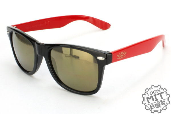 B-Philosophy超輕質繽紛雙色彩框高科技金水銀片經典不敗Ray Ban款韓星最愛太陽眼鏡 ~型號G6223