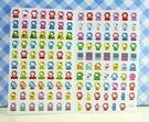 【震撼精品百貨】Hello Kitty 凱蒂貓~KITTY貼紙-心情貼紙-彩色(紅心)