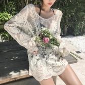 韓國新款性感顯瘦遮肚ins保守比基尼溫泉泳衣仙女士范三件套 錢夫人