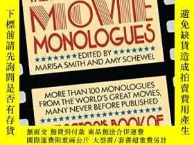 二手書博民逛書店The罕見Actor s Book Of Movie MonologuesY364682 Smith, Mar