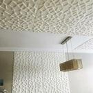 墻紙自粘防水臥室屋頂壁紙3D立體墻貼隔音...