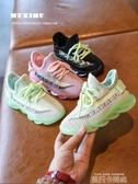 女童運動鞋2020新款春季鞋單鞋小童男童鞋子春秋款飛織兒童鞋網鞋 依凡卡時尚