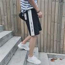 經典潮流美式風格拼接造型百搭休閒短褲