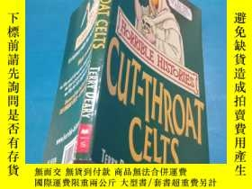 二手書博民逛書店The罕見Cut-throat Celts (Horrible