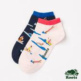 Roots -配件- 湖泊短襪 (女) - 粉色