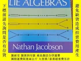 二手書博民逛書店Lie罕見algebra【李代數】Y187641 Nathan Jacobson Dover 出版1961