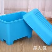 兒童玩具收納凳帶鎖創意儲物塑料換鞋凳防水浴室防滑凳子 QW8723『男人範』