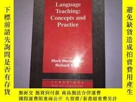 二手書博民逛書店Network罕見based Language Teaching Concepts【基於網絡的語言教學理念】Y