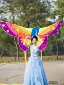風箏 成人 大型 兒童風箏 微風 風箏線輪 易飛初學風箏 YXS街頭布衣