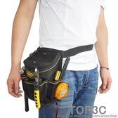 電工工具包多功能維修加厚加蓋升級版工具包腰包電工腰帶「Top3c」