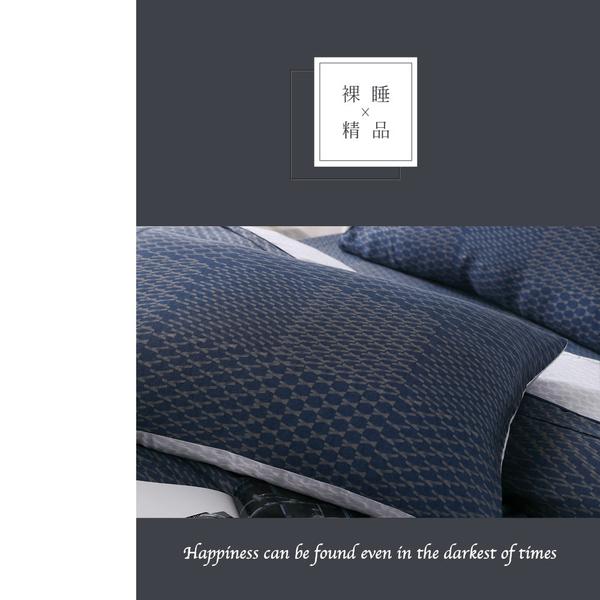 天絲床包 兩用被床包組 加大6x6.2尺 一彎心跡 100%頂級天絲 TENCEL 四件組 BEST寢飾