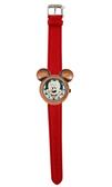 【卡漫城】 米奇 造型 手錶 古銅 紅 ㊣版 Mickey 米老鼠 圖案 迪士尼 女錶 卡通錶 原價1480 六折特惠