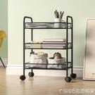 廚房小推車置物架落地多層臥室調料架家用儲物可行動零食收納架子 NMS 1995生活雜貨
