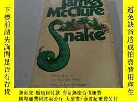 二手書博民逛書店James罕見Mcclure snake:詹姆斯·麥克盧爾蛇(外