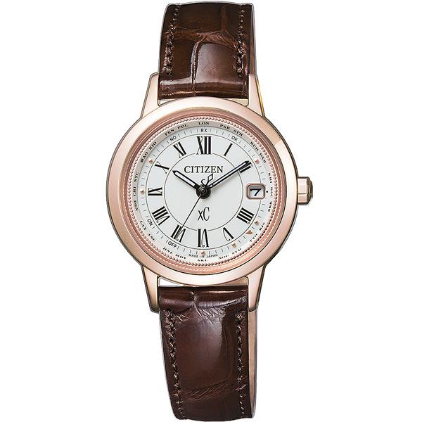 CITIZEN xC 戀之梵蒂岡電波時計腕錶-EC1144-18C