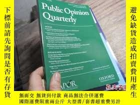 二手書博民逛書店public罕見opinion quarterly volume