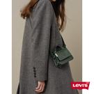 Levis 女款 長版劍領羊毛外套 / 秋冬形象款