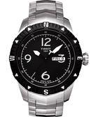 TISSOT 天梭 T-Navigator 霸氣型男機械手錶-黑/銀 T0624301105700