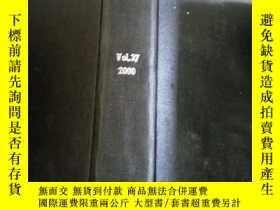 二手書博民逛書店filtration罕見& separation vol.37 2000 (過濾與分離)Y212829