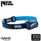 【PETZL 法國 ACTIK超輕量高亮度頭燈《藍》】E099FA01/350流明/頭燈/登山露營/手電筒/緊急照明
