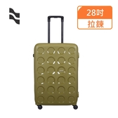 【LOJEL】28吋 羅傑VITA防盜拉鍊 行李箱/拉鍊行李箱(PP10-橄欖綠)【威奇包仔通】
