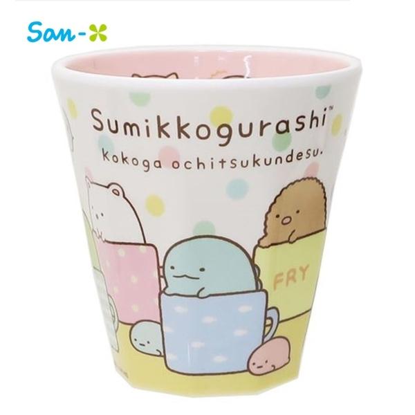 日本限定 角落生物家族 彩色點點版  水杯 / 杯子