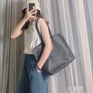 大包包女2020新款潮時尚百搭高級感單肩包大容量托特包洋氣手提包 3C優購