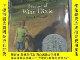 二手書博民逛書店Because罕見of Winn-Dixie【英文原版書】Y81