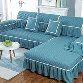 沙發墊四季通用布藝歐式簡約現代坐墊沙發套全包防滑套沙發罩全蓋