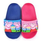 童鞋城堡-粉紅豬小妹 佩佩豬 中童 超輕量造型款拖鞋PG0042-粉/藍 (共二色)